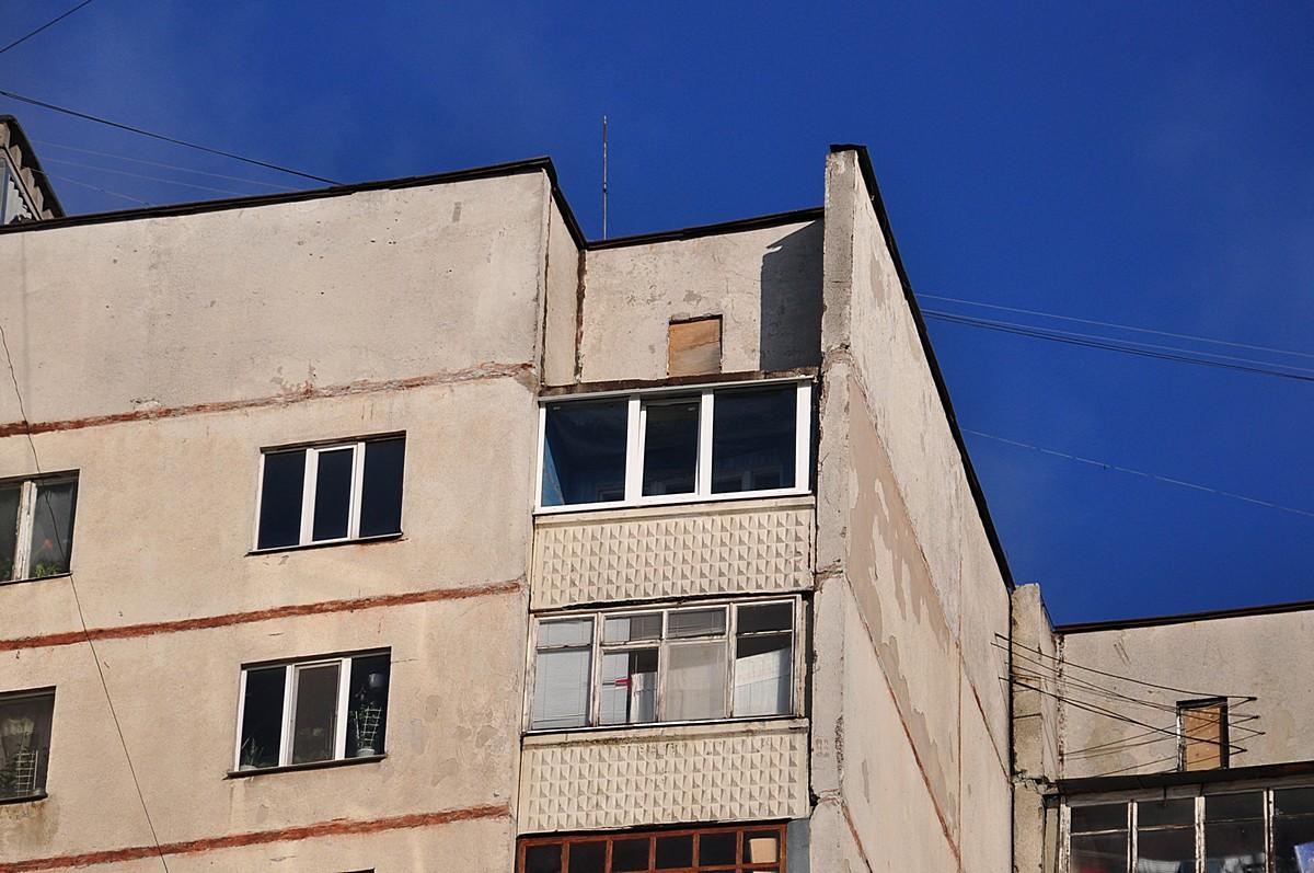 Балкон, пвх окна (после)