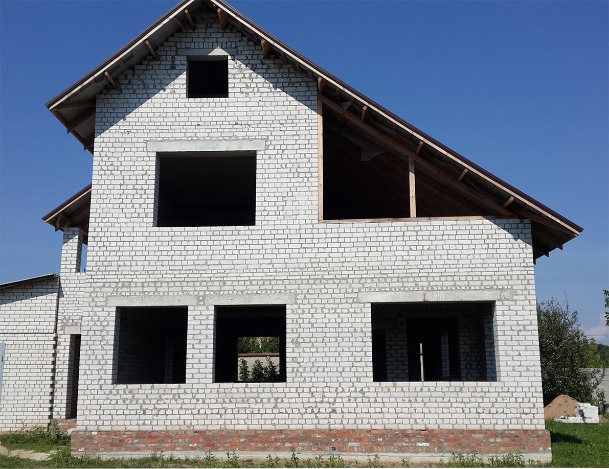 Окна в частном доме (до начала работ)