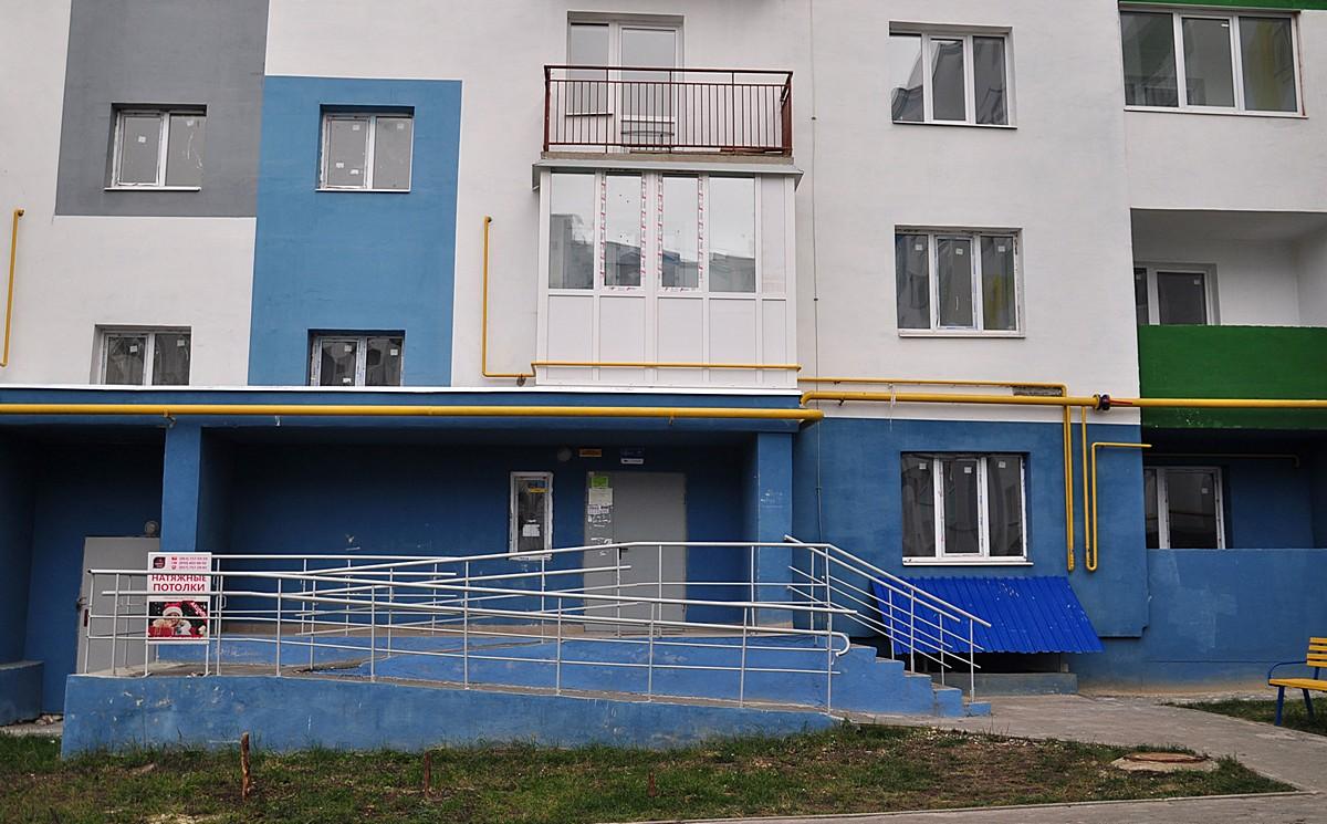 Остекление балкона + балконная дверь (после)