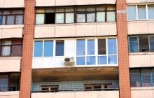 Балкон Французский в Харькове (после монтажа)
