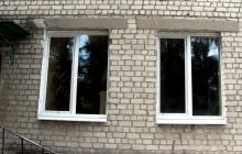 Окна в садике (после установки)