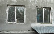 Окна в детском садике (до установки)