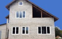 Окна в частном доме (после работ)