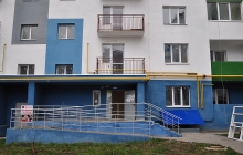 Остекление балкона + балконная дверь (до)