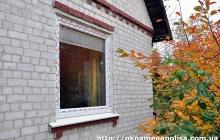 Пластиковые окна для частного дома