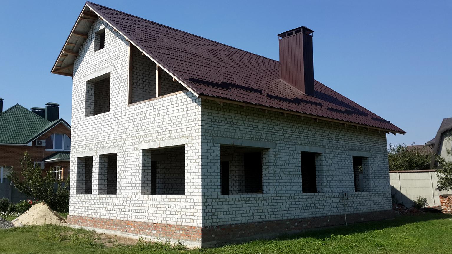 Окна в частный дом (до начала работ)