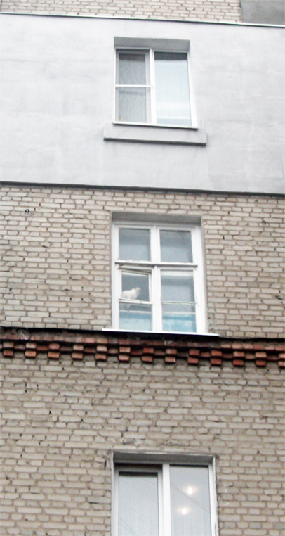 Пластиковые окна для дома - до