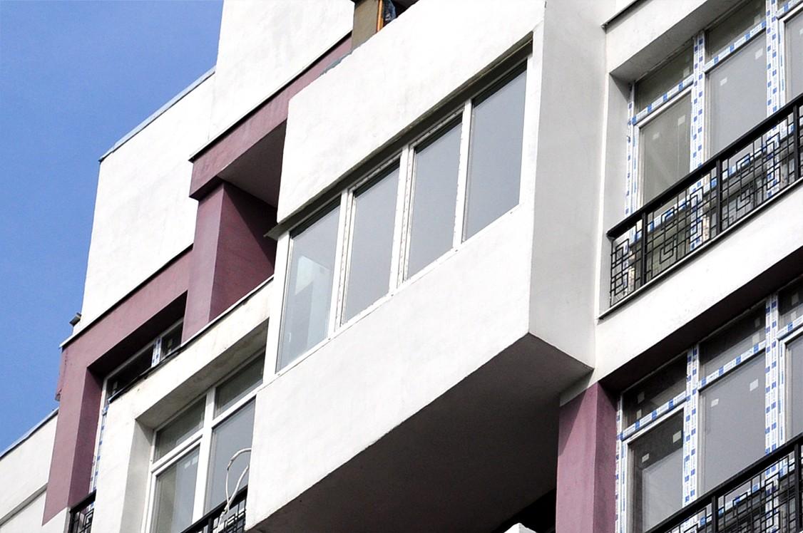 Балкон в высотке (после)