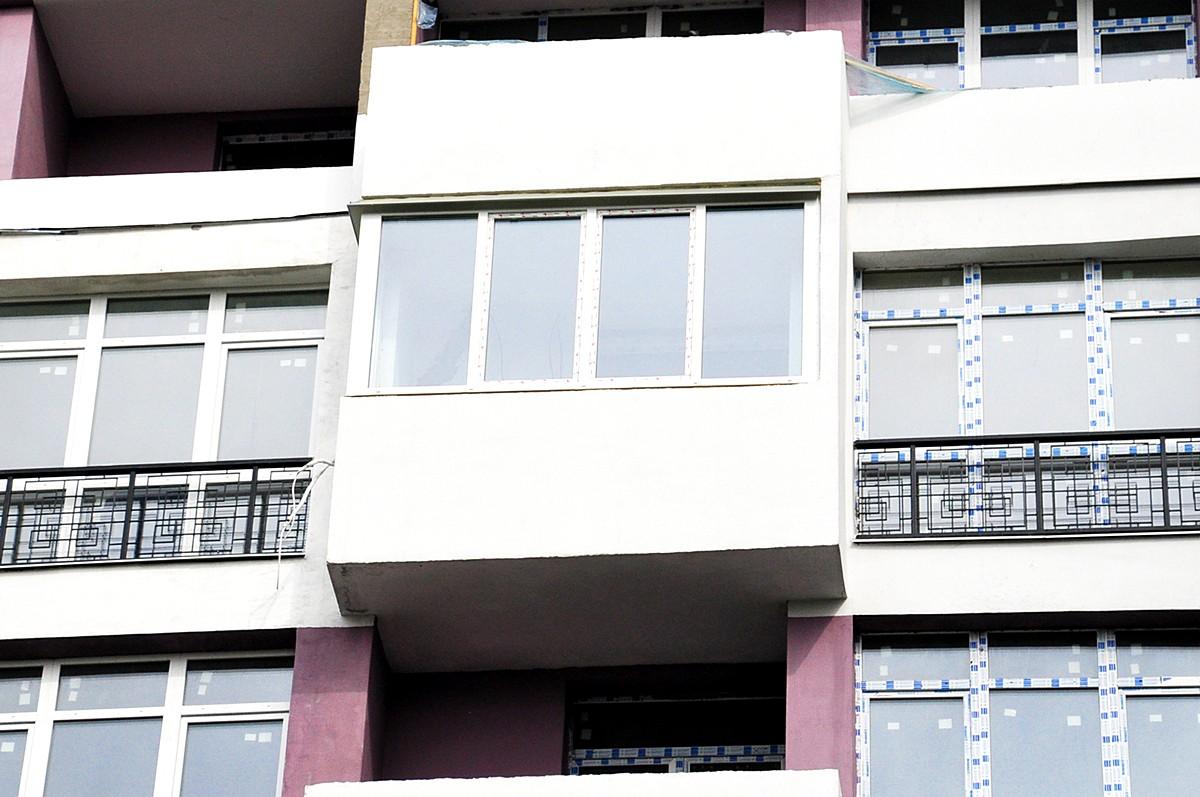 После выполнения работ по остеклению балкона