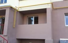Балкон до начала работы