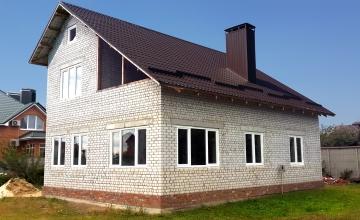 Окна в частный дом (после работ)