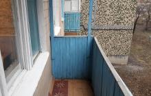 Реконструкция балкона (до)