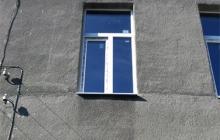 Окно в сталинке (после монтажа)
