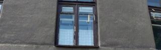 Окно в сталинском доме (до демонтажа)