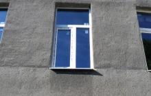 Окно в сталинском доме (после монтажа)