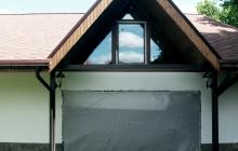Окно треугольное (после монтажа)