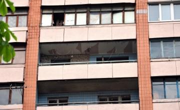 Балкон Французский в Харькове (до монтажа)