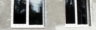 Окна в детском садике (после установки)