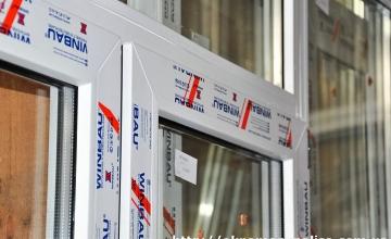 Пластиковые окна Winbau в Харькове, фото с производства
