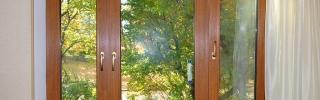 Пластиковые окна с отделкой под дерево